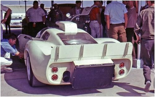 Chaparral 2D at 1967 Daytona 24