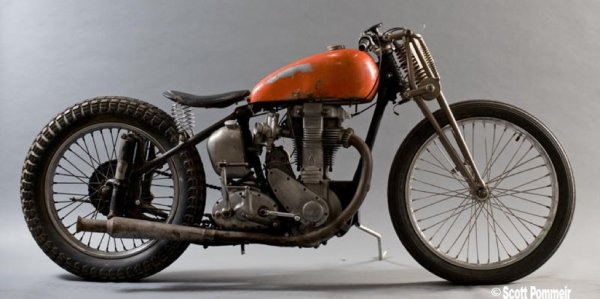 "1953 BSA BB34 ""Goldstar Special"""