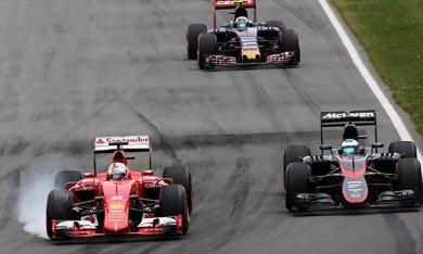 Vettel a limité la casse