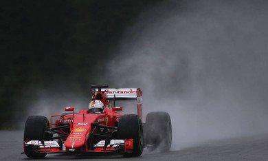 """Les Mercedes """"un rien trop rapides"""" pour Vettel"""