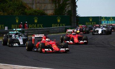 Course : Vettel se paye les Mercedes !