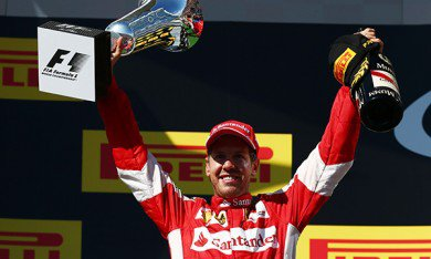"""Vettel : """"Jules, cette victoire est pour toi"""""""
