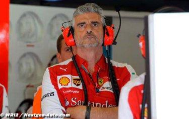 Arrivabene : Ferrari a encore beaucoup de travail