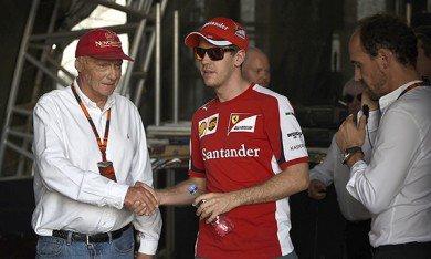 """Lauda : """"Vettel a deux qualités qui sont rares chez un pilote"""""""