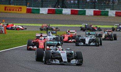Course : Hamilton s'impose devant Rosberg