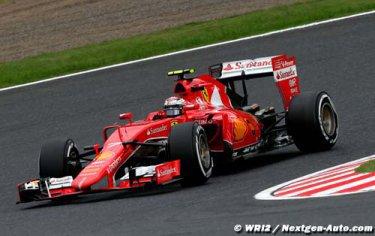 Ferrari modeste avant la fin de saison