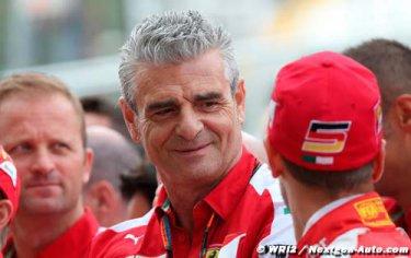 Ferrari : Nous travaillons depuis longtemps sur 2016