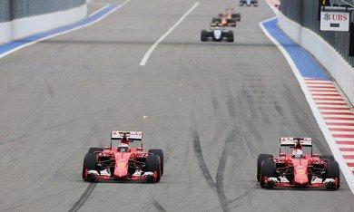 Ferrari avec un moteur amélioré à Austin ?