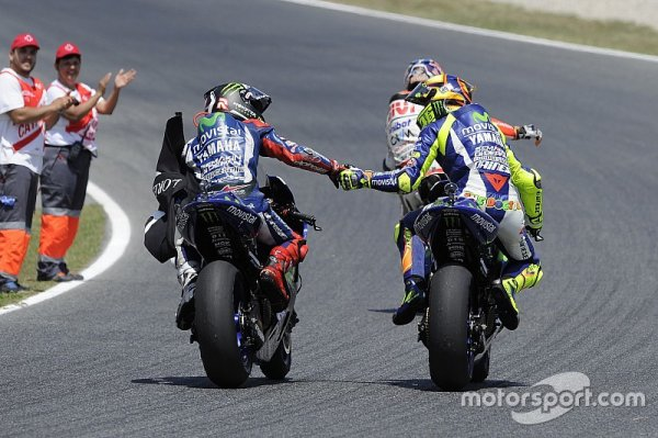 L'impossible cohabitation entre Rossi et Lorenzo en 2016