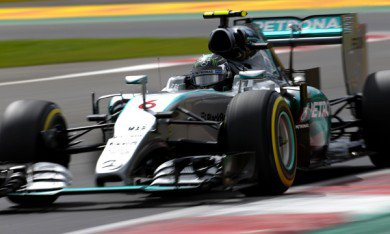 Rosberg encore devant Hamilton