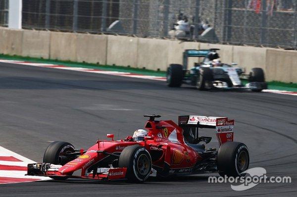 Vettel vise la victoire sur les deux dernières courses 2015