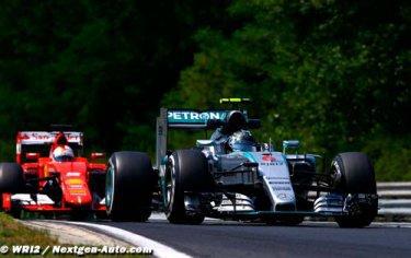 Lauda : Ferrari est sur nos talons mais il fallait changer les règles