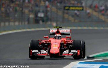 Vettel est plein d'espoir pour la course