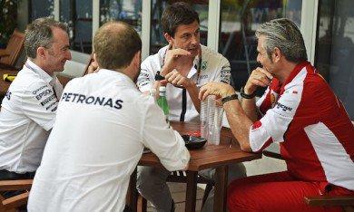 Mercedes-Ferrari : choc des cultures