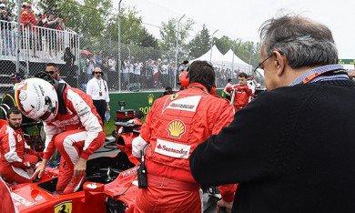 """Marchionne : """"Mercedes ne nous fait pas peur"""""""