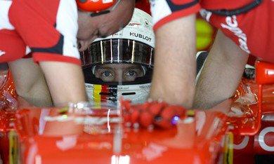 Vettel a testé une Ferrari de 2014 à Fiorano