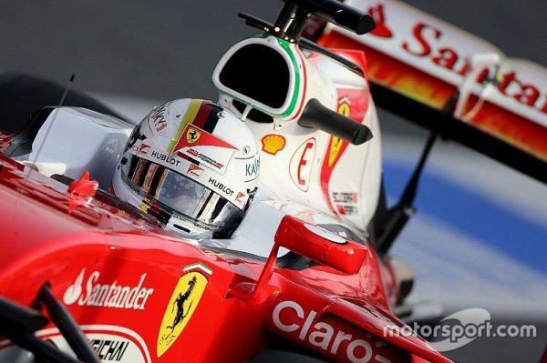 """Vettel - """"Il faut voir si Kimi a une impression similaire"""""""