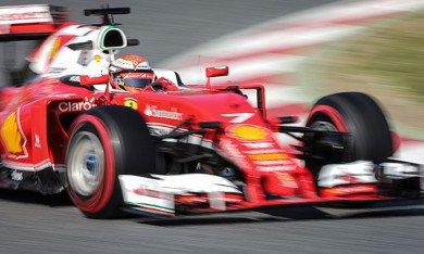 Barcelone : Räikkönen le plus rapide