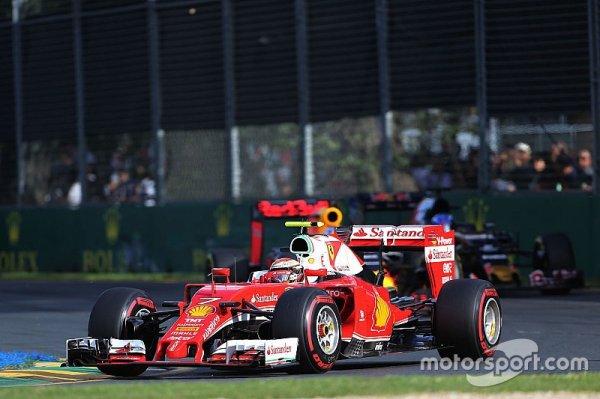 Räikkönen - La course a montré le vrai potentiel de Ferrari