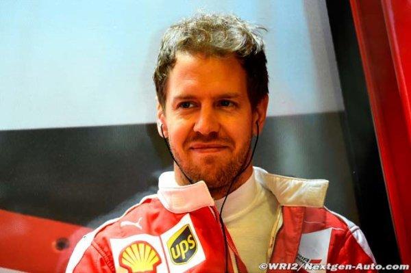 F1 - Clear : Sebastian Vettel tire Ferrari vers le haut