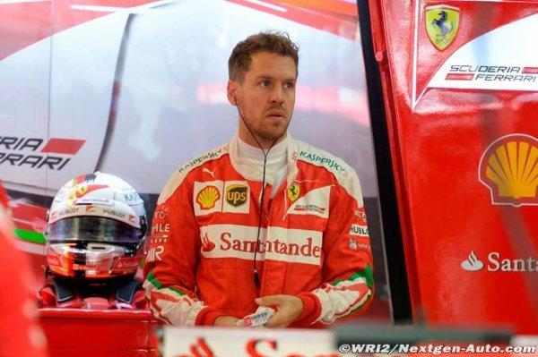 F1 - Vettel se sent sous pression après le début de saison de Ferrari