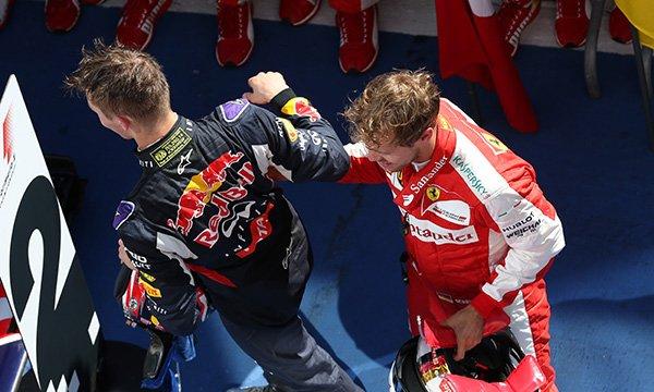 Vettel n'a pas fait pression pour rétrograder Kvyat