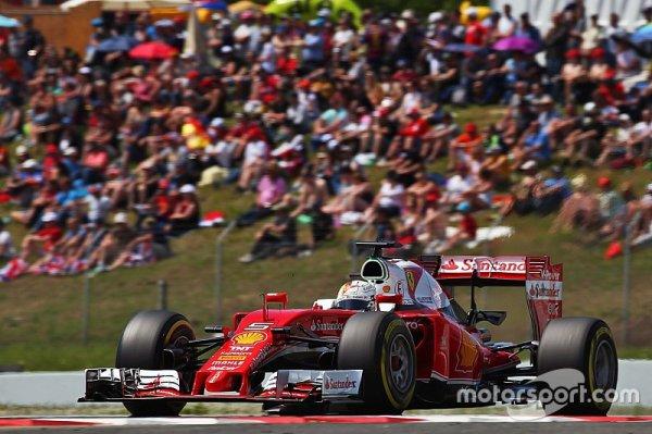 Une stratégie différente qui n'a pas aidé Vettel