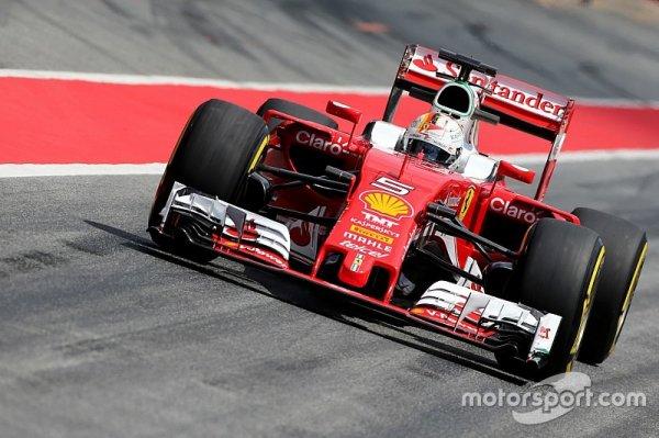 Vettel termine la première journée d'essais en tête à Barcelone