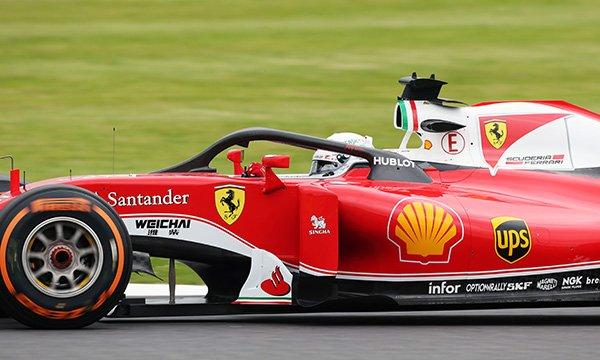"""Vettel : """"La visibilité n'était pas terrible"""""""