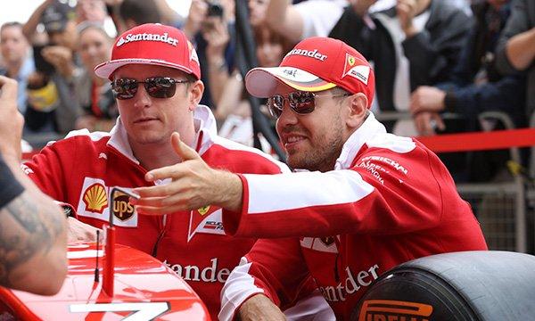 """Vettel : """"Garder Kimi était la bonne chose à faire"""""""