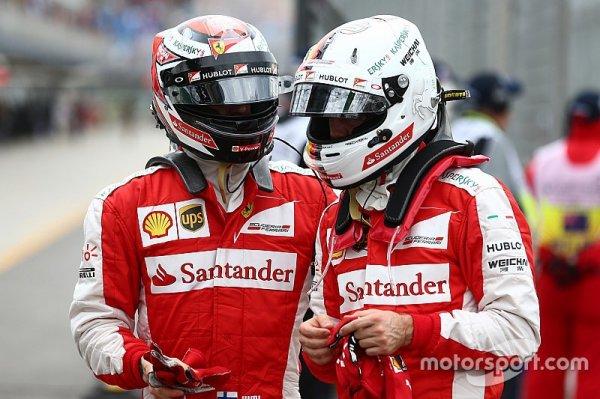 """Vettel - """"Kimi et moi avons le moins de problèmes d'ego de tout le paddock !"""""""