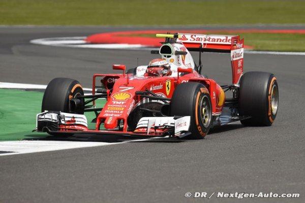 F1 - Silverstone, Jour 2 : Raikkonen conclut avec le meilleur temps