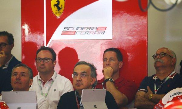 Réunion de crise chez Ferrari