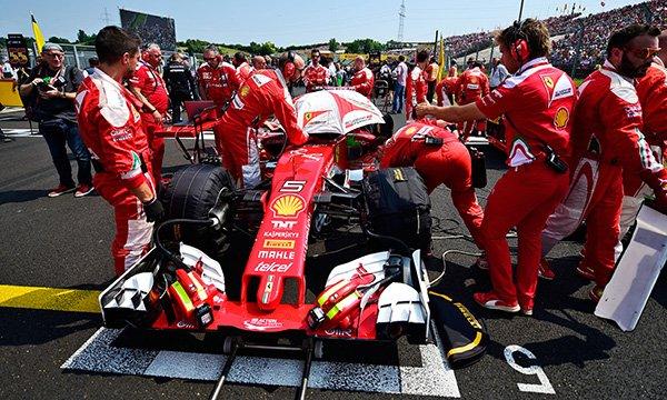 """Montagny : """"Le problème de Ferrari, c'est…"""""""