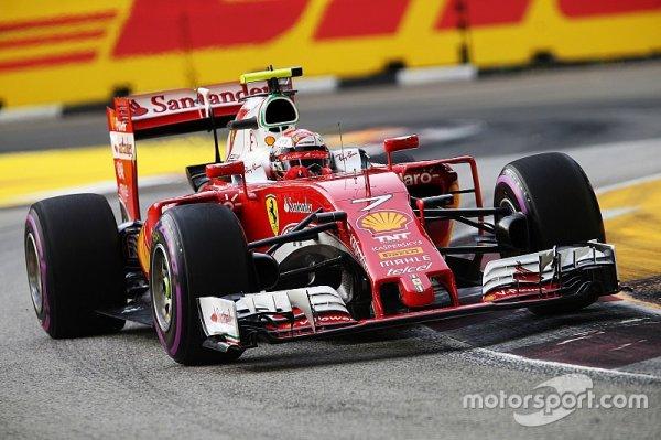 """Räikkönen - La Ferrari """"manque un peu d'adhérence"""""""
