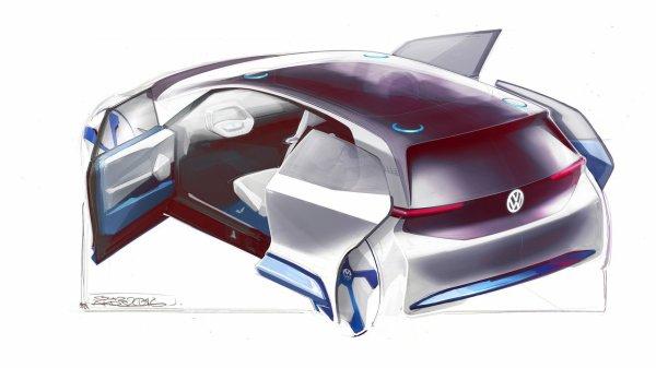 Mondial de Paris : Le teasing très électrique de Volkswagen