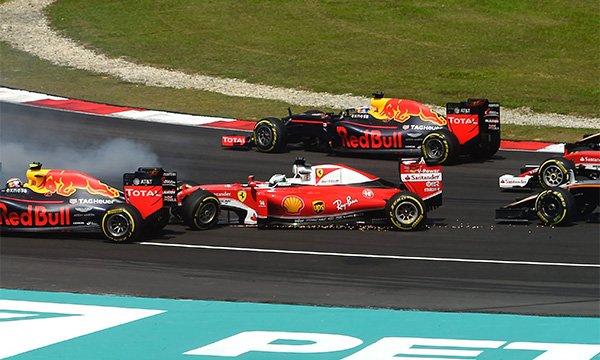 Vettel flingué par la presse italienne !