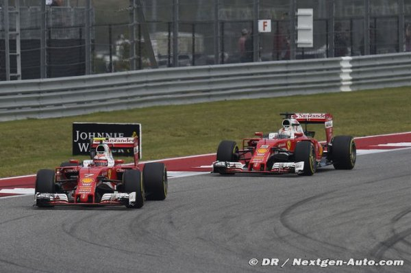 Ferrari préfère voir la situation dans sa globalité