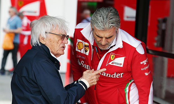 "Ecclestone : ""Arrivabene a besoin d'aide"""