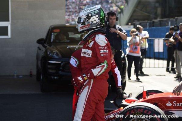 F1 - Vettel envisage-t-il de quitter la F1 ?