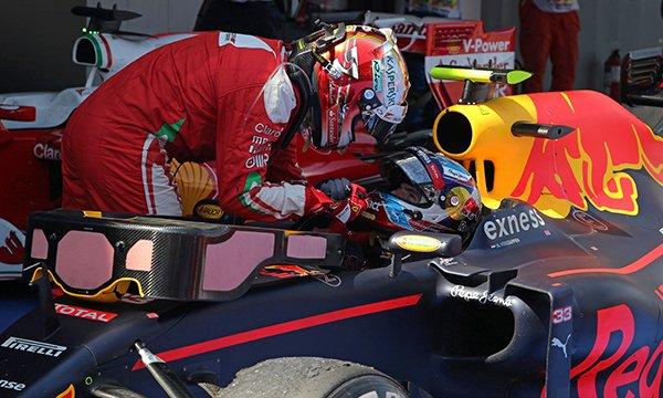 """Ce que Vettel a dit de Verstappen par radio : """"C'est un bât***"""""""
