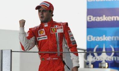 L'hommage de Ferrari à Massa