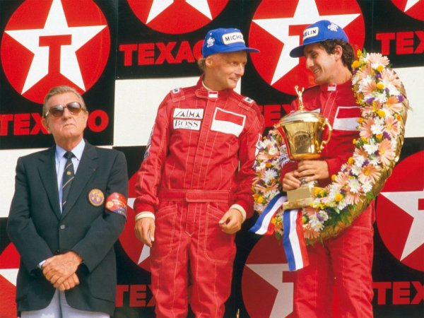 Niki Lauda et Alain Prost (1984)