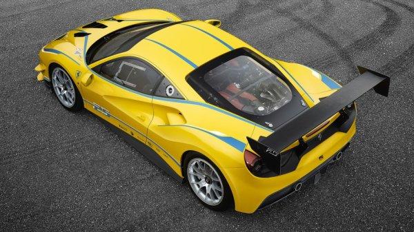 Ferrari a dévoilé sa nouvelle Ferrari 488 Challenge.