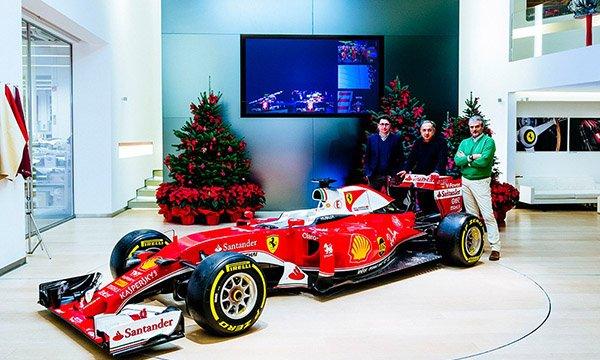 Ferrari ne croit plus au Père Noël