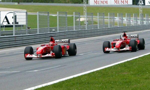 """""""Les consignes de Zeltweg en 2002 étaient une erreur"""" (Grand Prix d'Autriche 2002.)"""