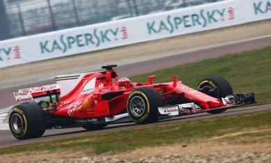 La réaction de Räikkönen sur la SF70H