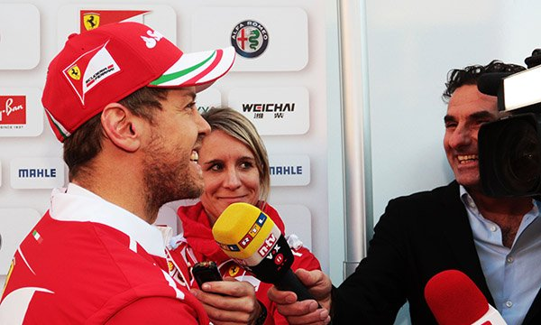 """Vettel : """"Je n'ai pas de boule de cristal"""""""