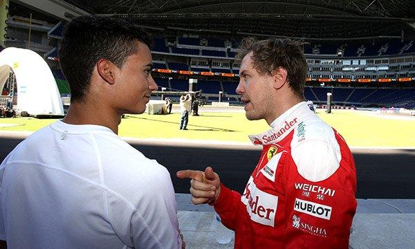 "Wehrlein : ""Vettel s'est occupé de moi à l'hôpital"""