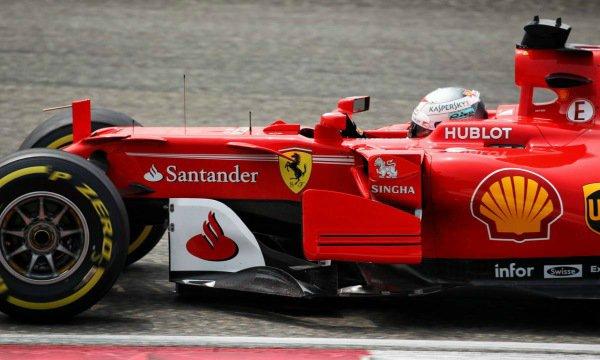 Vettel en première ligne pour un millième